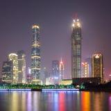 Zhujiang new town at night Stock Image