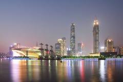 Zhujiang new town at night 4 Stock Images