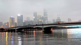 Zhujiang Xincheng CBD τη νύχτα, Guangzhou, Κίνα