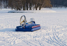 Zhuk hovercraft Royalty Free Stock Photos