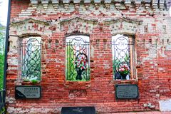 ZHUKOV ROSJA, CZERWIEC, - 2016: Pomnik Wielka Patriotyczna wojna obrazy royalty free