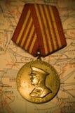 Zhukov's medal Royalty Free Stock Image