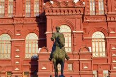 Zhukovmonument Royalty-vrije Stock Afbeeldingen