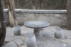 Zhuodeng di pietra Fotografia Stock