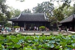 Zhuozhengyuan garden Stock Photography