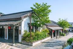 Zhuxian Art blocks view stock photography
