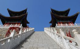 ZhuYu peak Royalty Free Stock Images