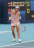 Zi Yan (CHN), professional tennis player Royalty Free Stock Image