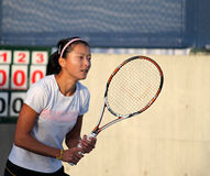 Zi Yan (CHN), professional tennis player Stock Images