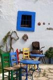 Zia. Ö av Kos Grekland Arkivbilder