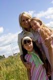 Zia e nipoti immagini stock libere da diritti