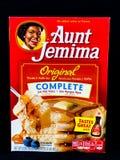 Zia Jemima Pancake Mix fotografie stock