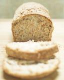 ziarna chlebowa cała Fotografia Stock