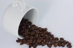 ziarna kawy aromatyczne Zdjęcia Stock