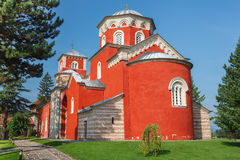 Zica monastery Royalty Free Stock Photo