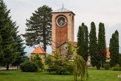 Zica monastery complex. Serbia Stock Image