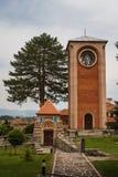 Zica monastery complex stock images