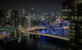 View from New Orleans Building Rotterdam Stock Image