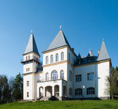 Zichy Castle( Poiana Florilor Castle). Image of a castle in the middle of the forest Stock Image