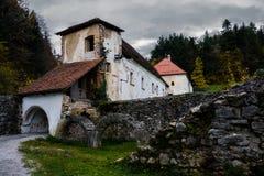Zicka kartuzija (zice charterhouse) Carthusian monastery .Sloven. Ia Stock Image