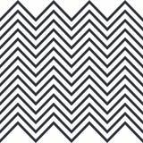 zickzack Horizontal nahtloses Muster für Streifen lizenzfreie abbildung