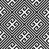 Zickzack-Vektor-nahtloses Muster Lizenzfreie Stockfotografie
