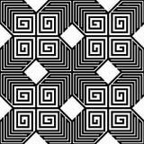 Zickzack-Vektor-nahtloses Muster Stockfoto