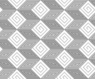 Zickzack-Vektor-nahtloses Muster Lizenzfreies Stockbild