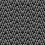 Zickzack-Wellenmuster des Designs nahtloses einfarbiges Lizenzfreies Stockfoto