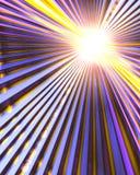 Zie de Lichte Aanslutingen van Technologie Royalty-vrije Stock Foto's