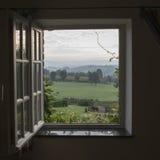 Zie door venster Royalty-vrije Stock Afbeelding