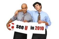 Zie U in 2010 Royalty-vrije Stock Afbeeldingen