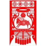 Ziege des Chinesischen Neujahrsfests Stockbild