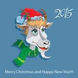 Ziege - Symbol 2015 - Illustration Lizenzfreie Stockfotos