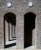 Ziegelstein-Bögen Stockbilder