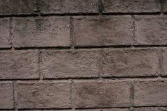 Ziegelstein-Block-Zement-konkretes Muster auf Zaun Wall Stockfoto