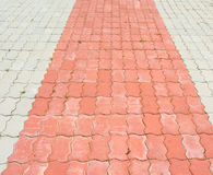Ziegelstein blockiert Boden Lizenzfreies Stockbild