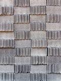 Ziegelstein-Blockvertikale stockfoto