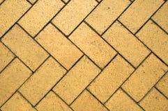 Ziegelstein-Bodenbelag Stockbild