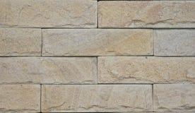 Ziegelstein der Betonmauer Stockbilder