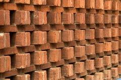 Ziegelstein-Fassade Lizenzfreie Stockfotos