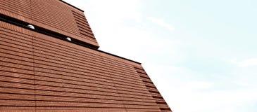 Ziegelstein-Fassade Lizenzfreies Stockbild
