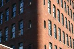 Ziegelstein-Gebäude Stockfoto