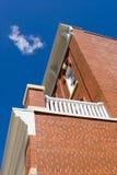 Ziegelstein-Gebäude Lizenzfreies Stockfoto