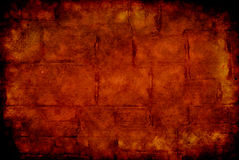 Ziegelstein Grunge Hintergrund Stockfotografie