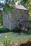 Ziegelstein-Mühle Stockfoto