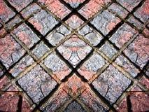 Ziegelstein-Muster Stockfotos