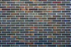 Ziegelstein-Muster-Hintergrund-Dunkelheit Stockfotos