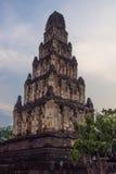 Ziegelstein pagada Charmtevi-Tempel Stockfotos