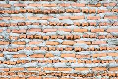 Ziegelstein-Schicht-Wand lizenzfreie stockfotografie